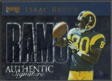 2001 Playoff Honors #42 Isaac Bruce Honor Roll Auto #29/30