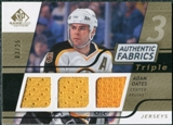 2008/09 Upper Deck SP Game Used Triple Authentic Fabrics Gold #3AFAO Adam Oates /25