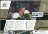 2008/09 Upper Deck SP Game Used Triple Authentic Fabrics Gold #3AFCC Dino Ciccarelli /25