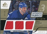 2008/09 Upper Deck SP Game Used Triple Authentic Fabrics Gold #3AFDG Doug Gilmour /25