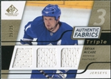 2008/09 Upper Deck SP Game Used Triple Authentic Fabrics Gold #3AFMC Bryan McCabe /25