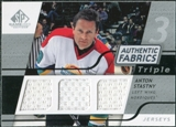 2008/09 Upper Deck SP Game Used Triple Authentic Fabrics #3AFAS Anton Stastny