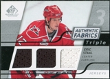 2008/09 Upper Deck SP Game Used Triple Authentic Fabrics #3AFES Eric Staal