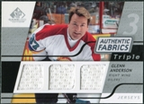 2008/09 Upper Deck SP Game Used Triple Authentic Fabrics #3AFGN Glenn Anderson