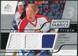 2008/09 Upper Deck SP Game Used Triple Authentic Fabrics #3AFMD Lanny McDonald