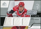 2008/09 Upper Deck SP Game Used Triple Authentic Fabrics #3AFRB Rod Brind'Amour