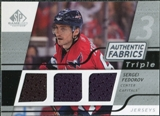 2008/09 Upper Deck SP Game Used Triple Authentic Fabrics #3AFSF Sergei Fedorov