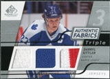 2008/09 Upper Deck SP Game Used Triple Authentic Fabrics #3AFSI Darryl Sittler