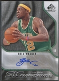 2009/10 SP Game Used #SBW Bill Walker SIGnificance Auto