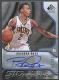 2009/10 SP Game Used #SRU Brandon Rush SIGnificance Auto #233/299