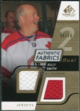 2008/09 Upper Deck SP Game Used Dual Authentic Fabrics Gold #AFBS Billy Smith /50
