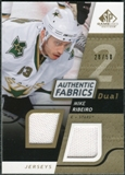 2008/09 Upper Deck SP Game Used Dual Authentic Fabrics Gold #AFMR Mike Ribeiro /50