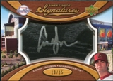 2007 Upper Deck Sweet Spot Signatures Black Bat Barrel Silver Ink #CJ Conor Jackson /15