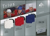 2008/09 Upper Deck SP Game Used Authentic Fabrics Trios #SAA Saku Koivu Andrei Kostitsyn Alex Kovalev /25
