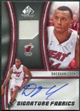 2009/10 Upper Deck SP Game Used Signature Fabrics #SFDC Daequan Cook Autograph