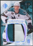 2010/11 Upper Deck Ultimate Collection Premium Patches #PJT Joe Thornton /25