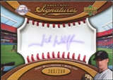 2007 Upper Deck Sweet Spot Signatures Red Stitch Blue Ink #JW Josh Willingham /299