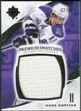 2010/11 Upper Deck Ultimate Collection Premium Swatches #PAK Anze Kopitar 22/35