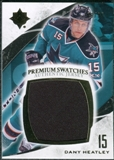 2010/11 Upper Deck Ultimate Collection Premium Swatches #PDH Dany Heatley /35
