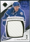 2010/11 Upper Deck Ultimate Collection Premium Swatches #PDP Dion Phaneuf /35