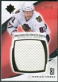 2010/11 Upper Deck Ultimate Collection Premium Swatches #PHO Marian Hossa /35