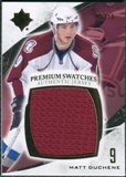 2010/11 Upper Deck Ultimate Collection Premium Swatches #PMD Matt Duchene /35