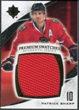 2010/11 Upper Deck Ultimate Collection Premium Swatches #PPS Patrick Sharp /35