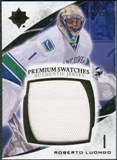 2010/11 Upper Deck Ultimate Collection Premium Swatches #PRL Roberto Luongo /35