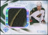 2010/11 Upper Deck Ultimate Collection Debut Threads Patches #DTCA Cody Almond /35