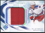 2010/11 Upper Deck Ultimate Collection Debut Threads Patches #DTEG Evgeny Grachev /35