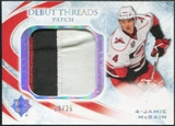 2010/11 Upper Deck Ultimate Collection Debut Threads Patches #DTMC Jamie McBain /35