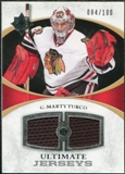 2010/11 Upper Deck Ultimate Collection Ultimate Jerseys #UJMT Marty Turco /100