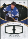 2010/11 Upper Deck Ultimate Collection Ultimate Jerseys #UJMS Martin St. Louis /100