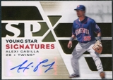2008 Upper Deck SPx Young Star Signatures #AC Alexi Casilla Autograph