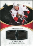 2010/11 Upper Deck Ultimate Collection Ultimate Jerseys #UJJS Jason Spezza /100