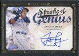 2008 Upper Deck UD Masterpieces Stroke of Genius Signatures #JA James Loney Autograph