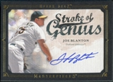 2008 Upper Deck UD Masterpieces Stroke of Genius Signatures #JB Joe Blanton Autograph