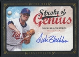 2008 Upper Deck UD Masterpieces Stroke of Genius Signatures #NB Nick Blackburn Autograph