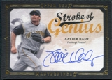 2008 Upper Deck UD Masterpieces Stroke of Genius Signatures #XN Xavier Nady Autograph