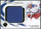 2010/11 Upper Deck Ultimate Collection Debut Threads #DTEG Evgeny Grachev /200