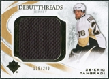 2010/11 Upper Deck Ultimate Collection Debut Threads #DTET Eric Tangradi /200