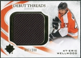 2010/11 Upper Deck Ultimate Collection Debut Threads #DTEW Eric Wellwood /200