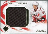 2010/11 Upper Deck Ultimate Collection Debut Threads #DTJS Jeff Skinner /200
