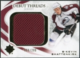 2010/11 Upper Deck Ultimate Collection Debut Threads #DTKS Kevin Shattenkirk /200