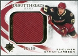 2010/11 Upper Deck Ultimate Collection Debut Threads #DTOE Oliver Ekman-Larsson /200