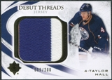2010/11 Upper Deck Ultimate Collection Debut Threads #DTTH Taylor Hall /200