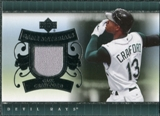 2007 Upper Deck UD Game Materials #CC Carl Crawford S2