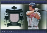 2007 Upper Deck UD Game Materials #CJ Chipper Jones S2