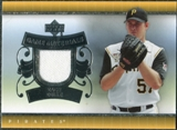 2007 Upper Deck UD Game Materials #ZD Zach Duke S2
