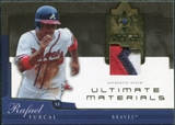 2005 Upper Deck Ultimate Collection Materials Patch #RF Rafael Furcal /25